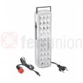 Lanterna emergenza ricaricabile 30 LED