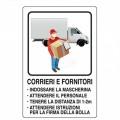 CARTELLO COVID 30x20