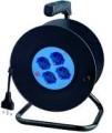Avvolgicavo Elettrico 25mt 4p univ+disg